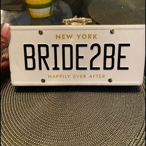 Kate Spade Bride2be license clutch